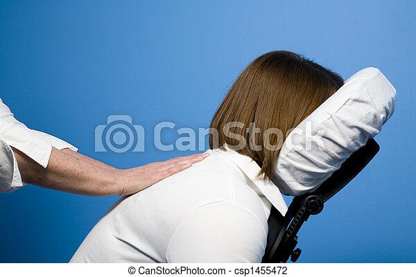Chair massage - csp1455472