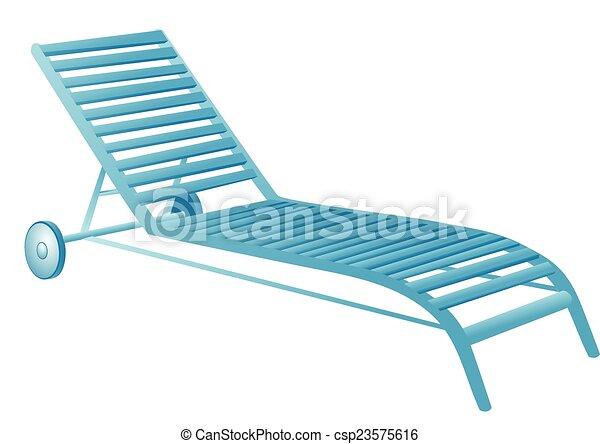 Chair Swimming Pool Vector