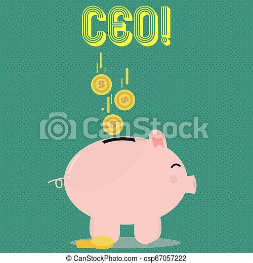 chairdemonstrating, głowa, pojęcie, chairanalysis, tekst, wykonawca, ceo., szef, szef, treść, oficer, pismo, controller. - csp67057222