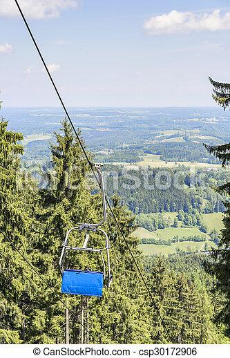 Chairlift Bavaria Alps - csp30172906