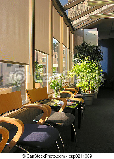 Chairs in office - csp0211069