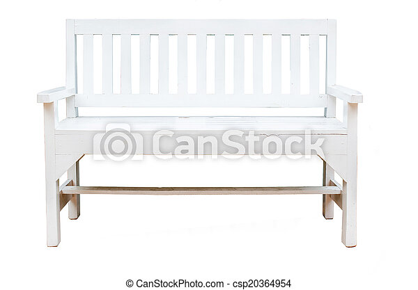 chairs on white background - csp20364954