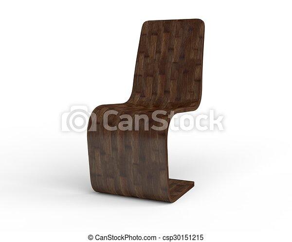 chaise bois moderne csp30151215 - Chaise Bois Moderne
