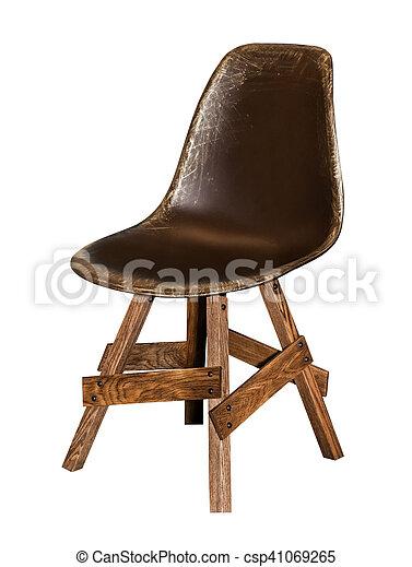 chaise bois moderne csp41069265 - Chaise Bois Moderne
