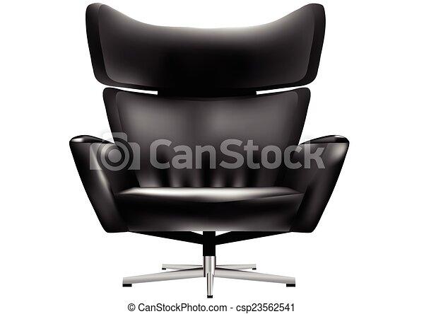 chaise, bureau - csp23562541