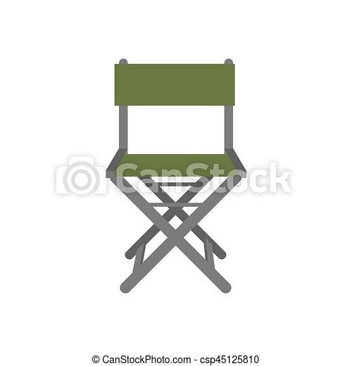 chaise, peche, illustration - csp45125810