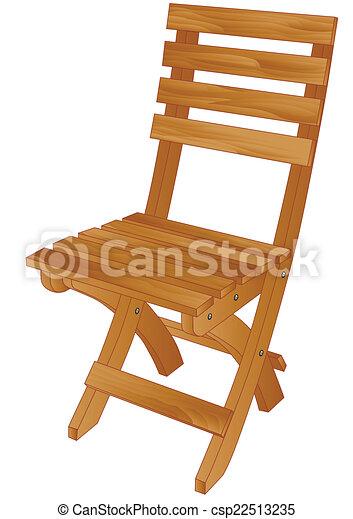 chaise, plier - csp22513235