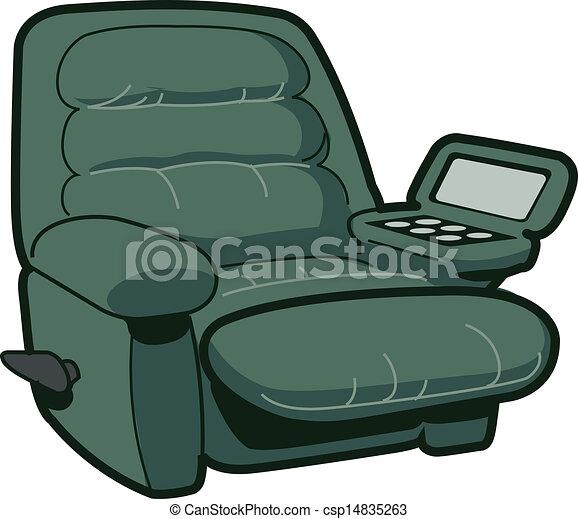 chaise, reposer - csp14835263