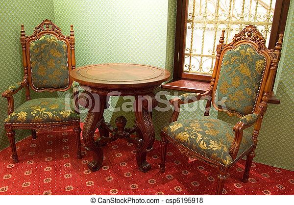 chaises, démodé - csp6195918