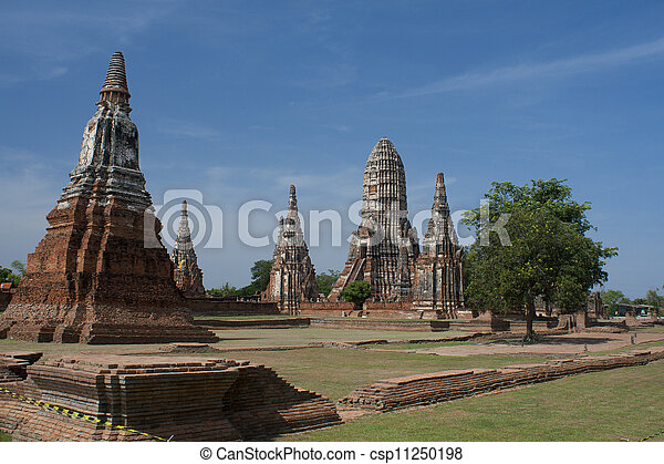 Chaiwattanaram temple  - csp11250198