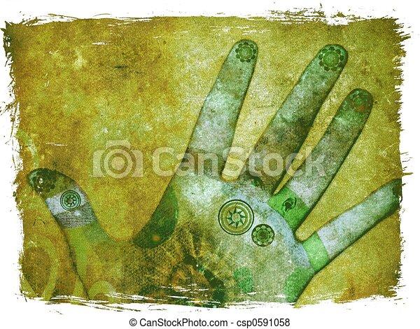 Chakra hands - csp0591058