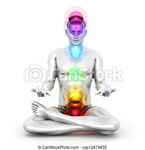 Chakra Meditation - csp12474832