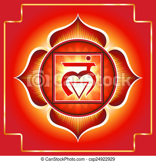 Chakra Muladhara - csp24922929
