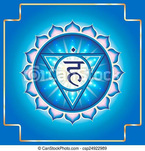 chakra, vishuddha - csp24922989