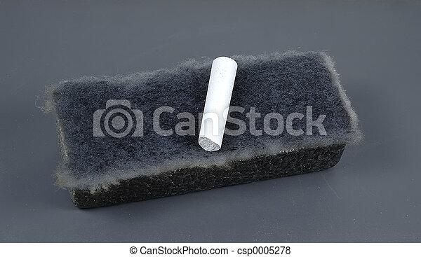 Chalk and Eraser - csp0005278