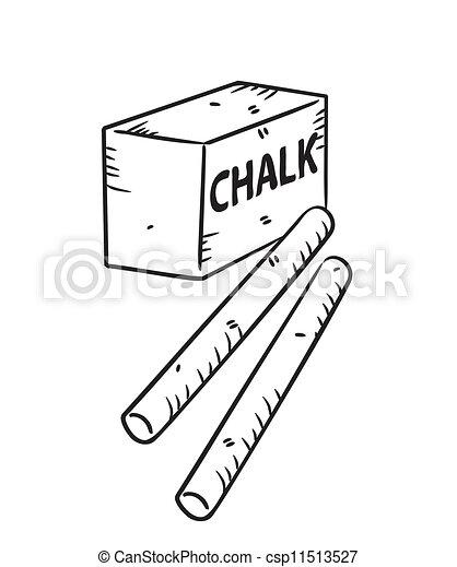 Chalk doodle - csp11513527