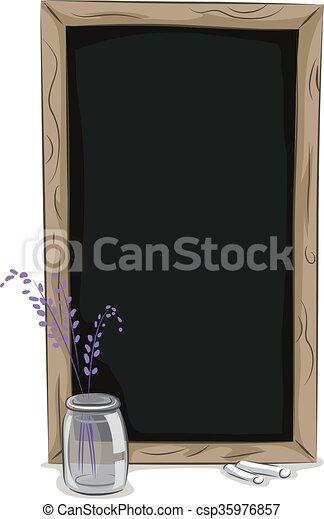 Chalkboard Frame - csp35976857