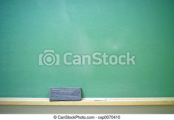 chalkboard-horizontal, leeg - csp0070410