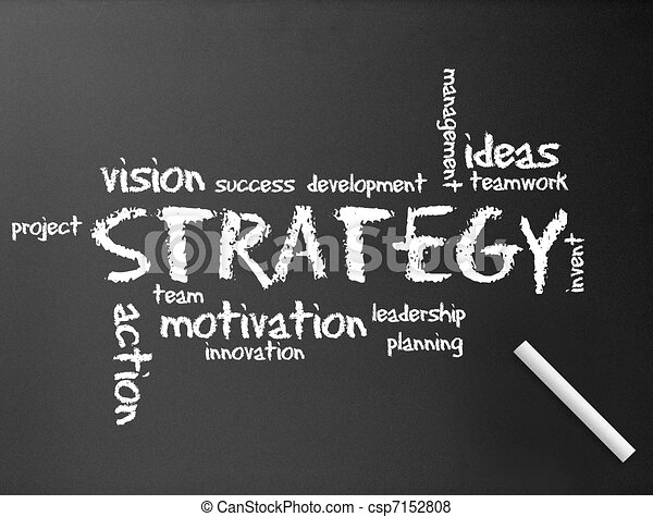 Chalkboard - Strategy - csp7152808