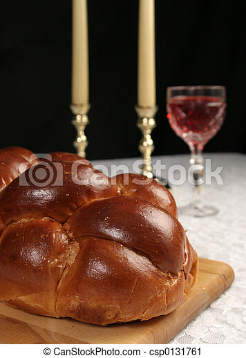 Challah For Shabbat - csp0131761