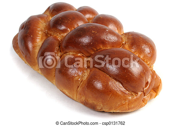 Challah Isolated - csp0131762