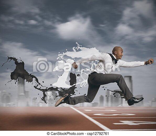 Challenge in business - csp12792761
