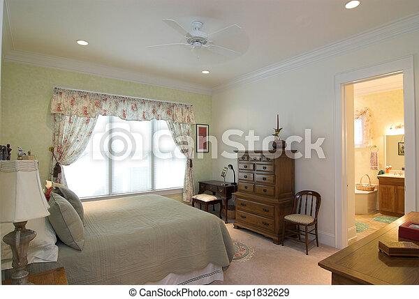 chambre à coucher - csp1832629