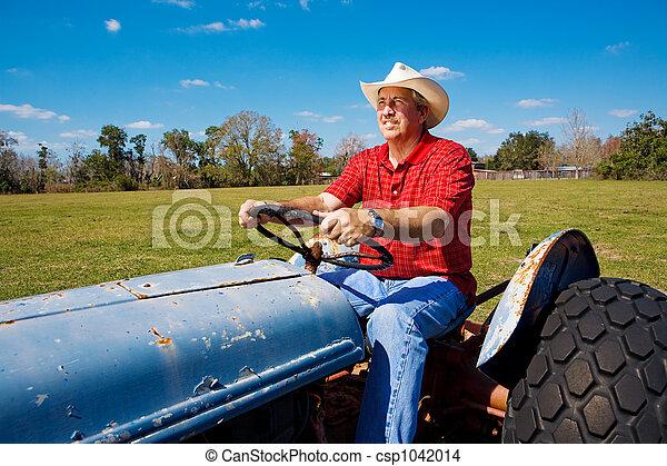 champ, mows, paysan - csp1042014