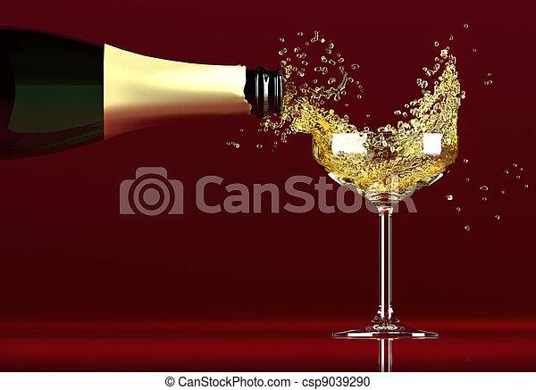 champaña - csp9039290