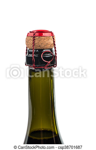 Champagne cork close up - csp38701687