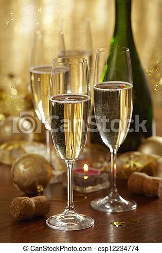 champagne - csp12234774