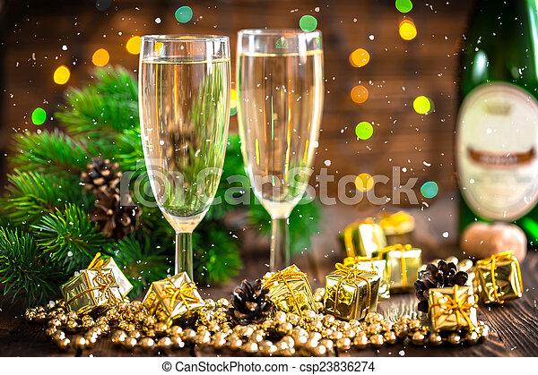 Champagne - csp23836274
