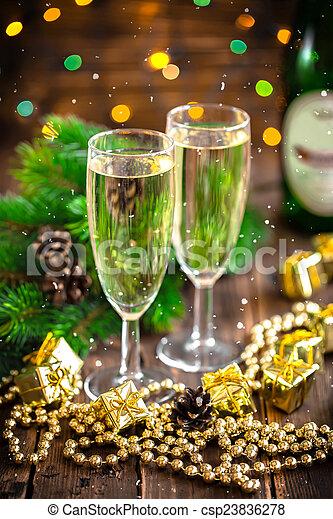 Champagne - csp23836278