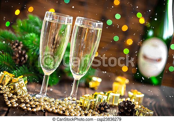 Champagne - csp23836279