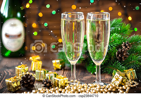 Champagne - csp23844710