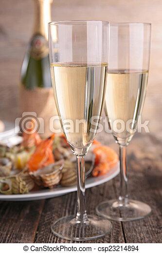 champagne - csp23214894