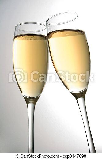 Champagne Toast - csp0147098