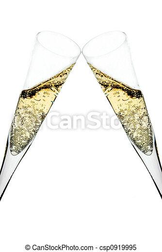 champagne toast - csp0919995
