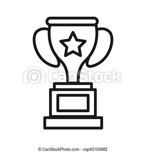 Champions Cup Illustration Design