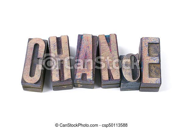 chance word - csp50113588
