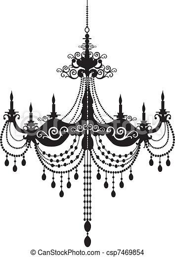 chandelier - csp7469854