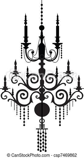 chandelier - csp7469862