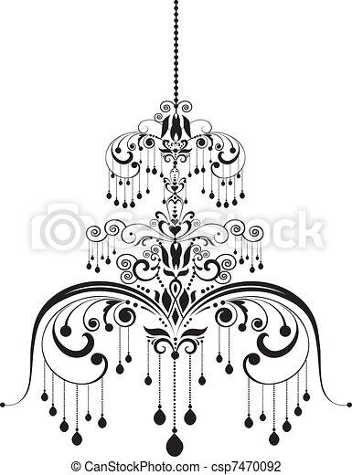 chandelier - csp7470092
