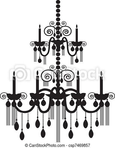 chandelier - csp7469857