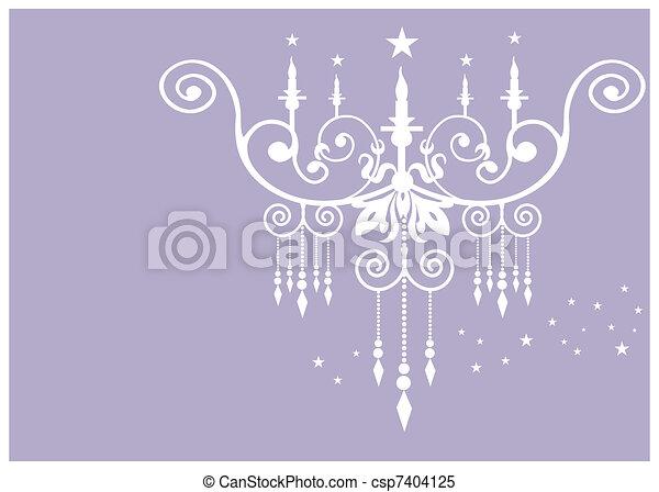 Chandelier pattern - csp7404125