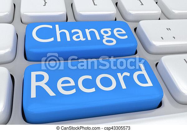 Change Record concept - csp43305573