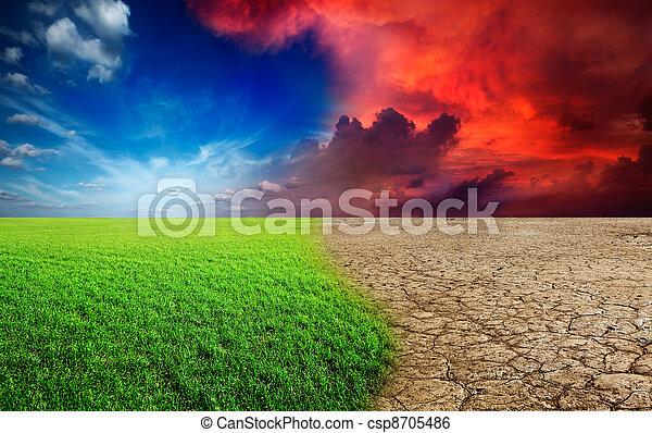 changement climat - csp8705486