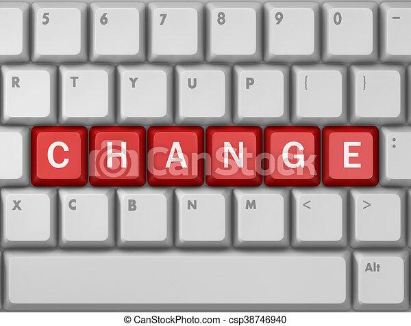 changement - csp38746940