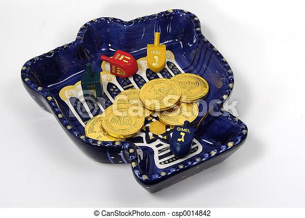 Chanukah Bowl 2 - csp0014842