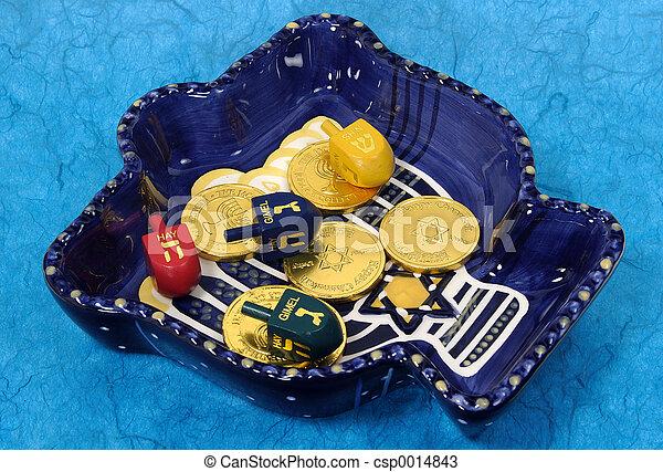 Chanukah Bowl 3 - csp0014843